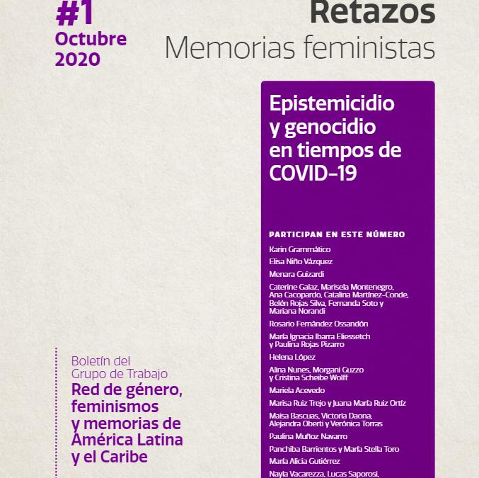 Académica de PMS participa en Boletín de Clacso sobre Memorias Feministas en pandemia